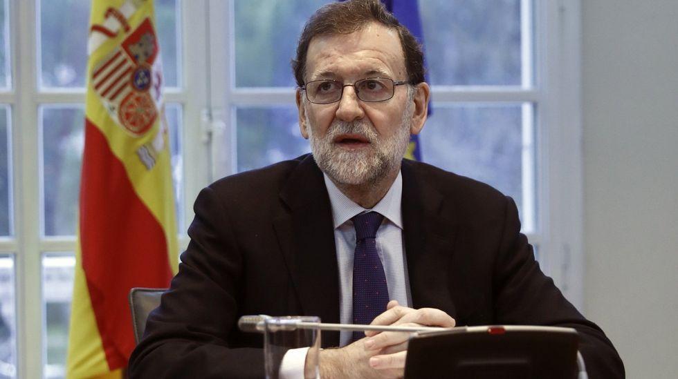 Rajoy, sobre la subida de la luz: «No todo en esta vida es culpa del Gobierno»