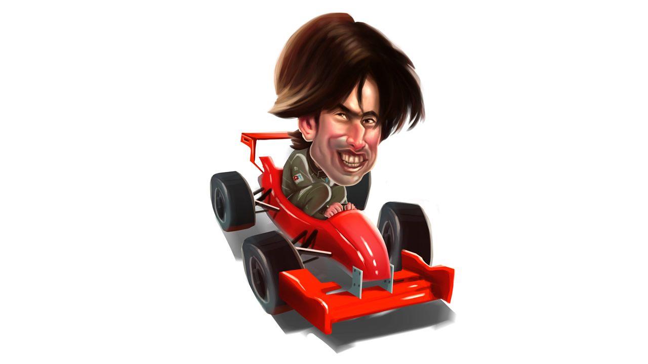 El moscón Javier Álvarez, a punto de cumplir su sueño.Fernando Alonso