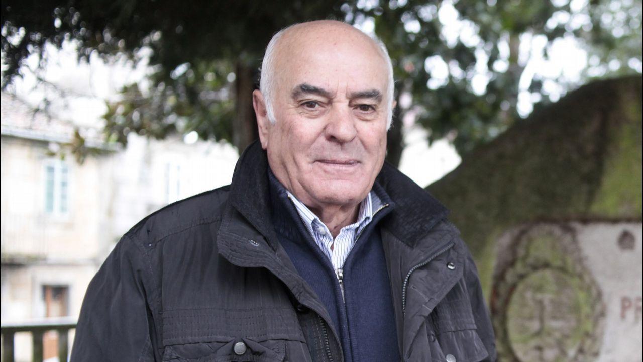 Celebración del gordo en Carrefour pontevedra.Camilo González Bodaño