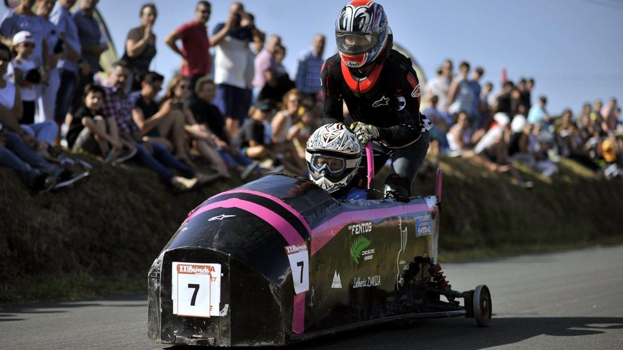 Las carrilanas ponen velocidad y humor al verano en Valdoviño