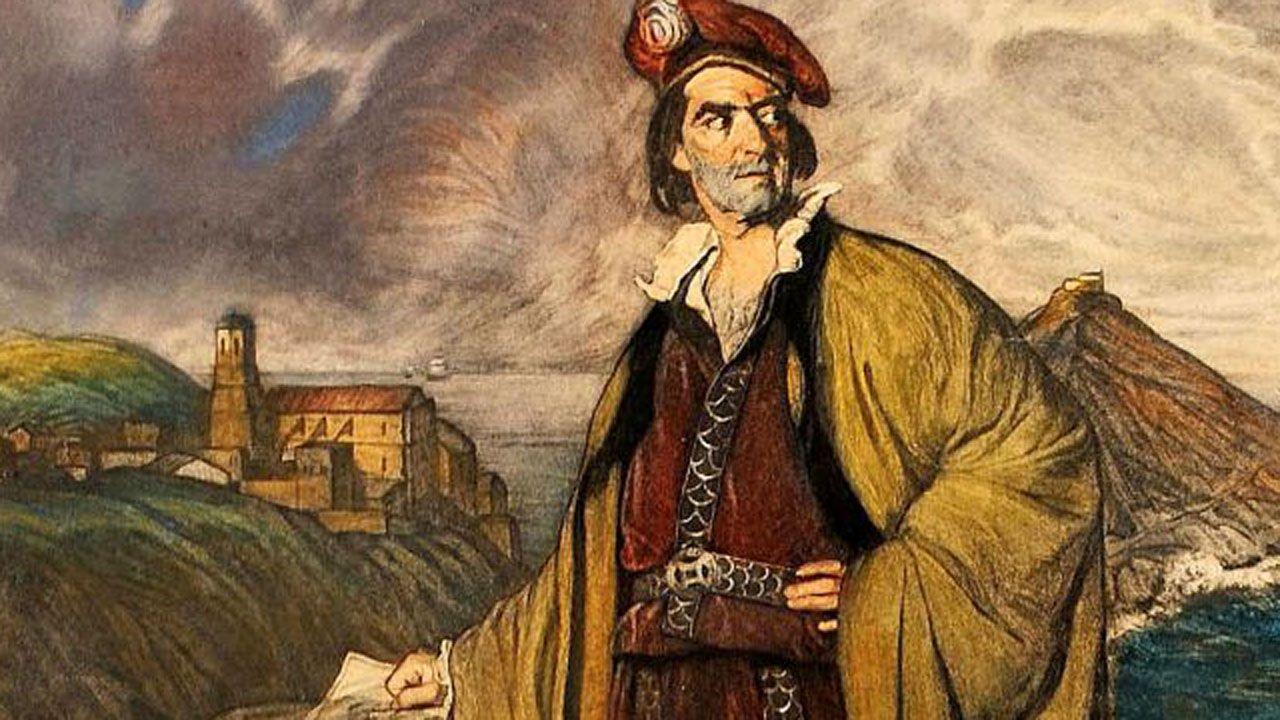 Juan Sebastián Elcano, según Zuloaga
