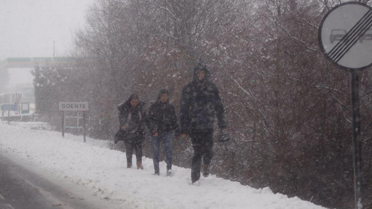 .Nieve en Goente