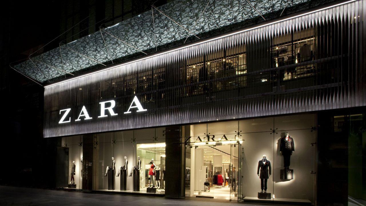 .Primera tienda que Zara abrió en Australia