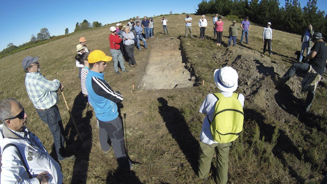 Se alquila monte gallego.Excavaciones recientes en el castro de Viladonga