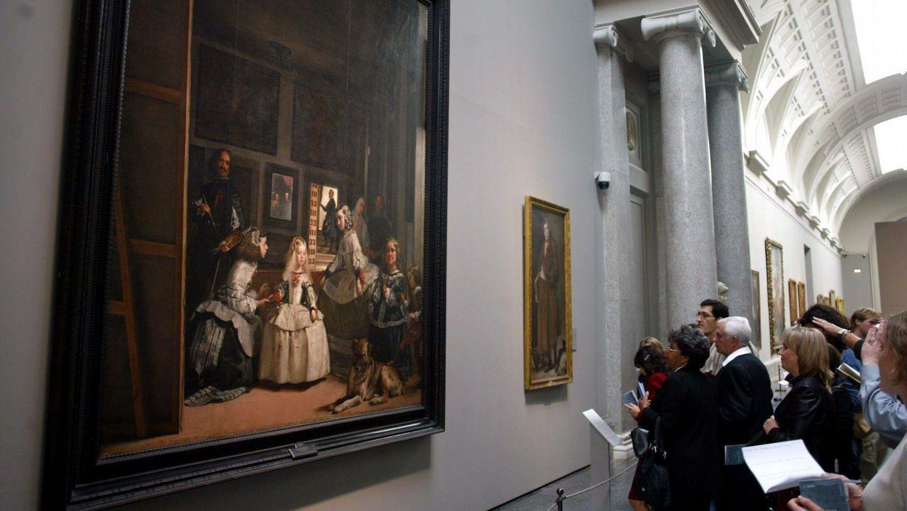 La Fundación Princesa suma apoyos.El cuadro «Las meninas», de Velázquez, es uno de los iconos del Museo del Prado