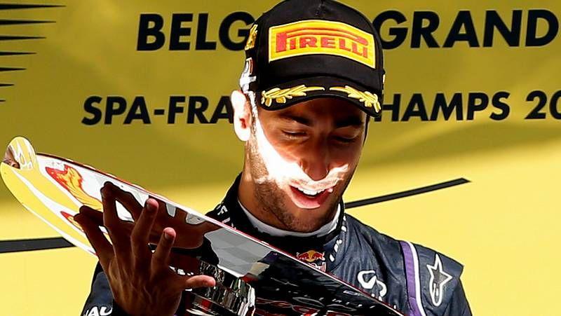 El Gran Premio de Bélgica, en fotos.El roce entre Rosberg y Hamilton