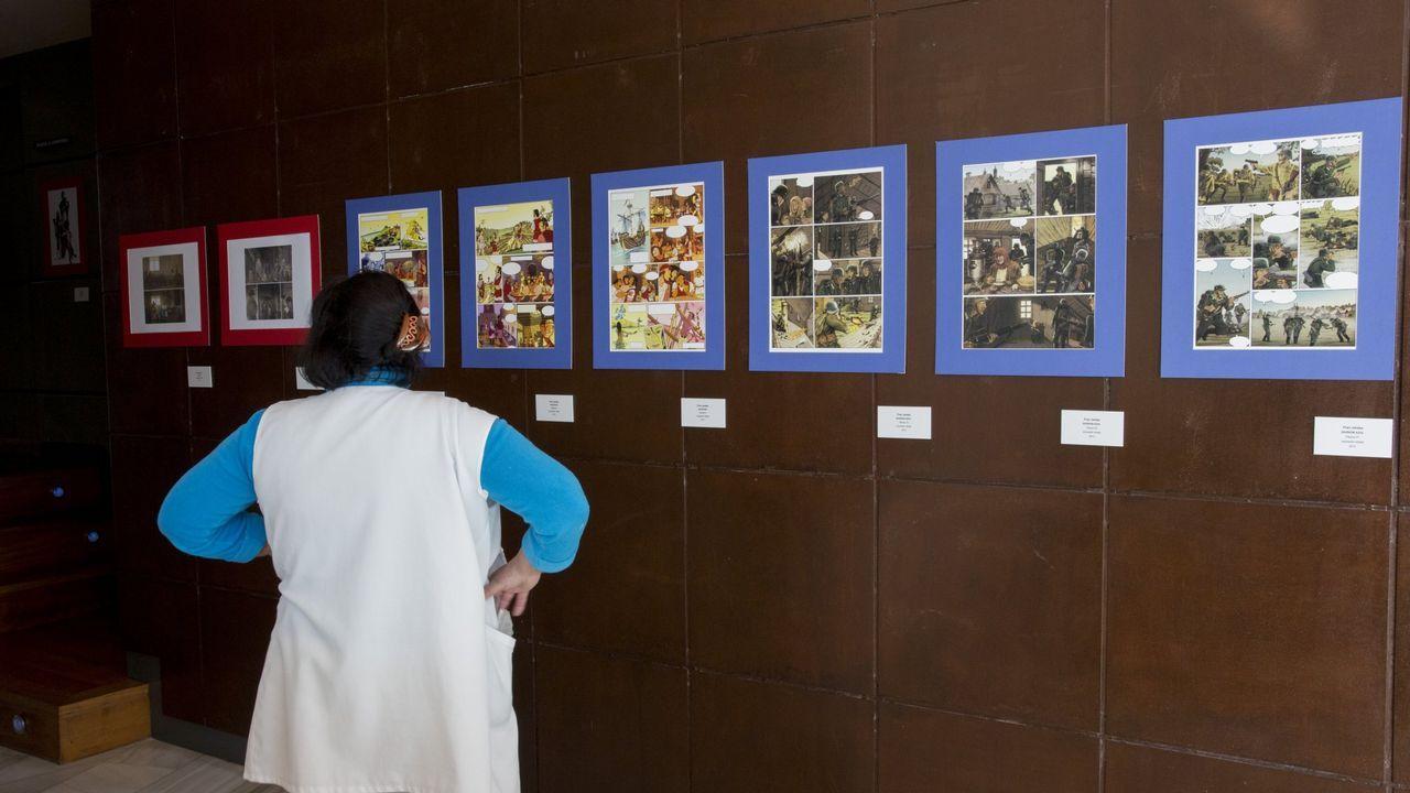 Un momento de la presentación de «Niños listos como serpientes», de Javi Guerrero, en la Feria del Libro de Gijón