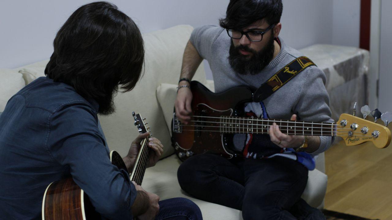 Viva Suecia y Rufus T. Firefly trabajan juntos en A Coruña.