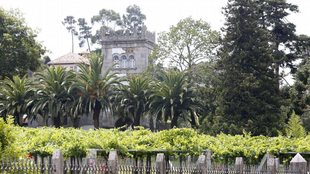 .La vivienda asaltada se encuentra enel lugar de Baceiro, en la parroquia de Lantaño, en Portas