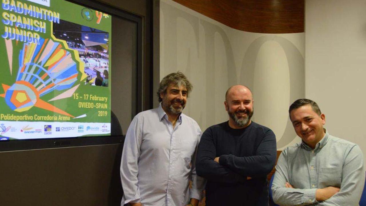 Presentación del torneo de Bádminton IBERDROLA Spanish Junior 2019