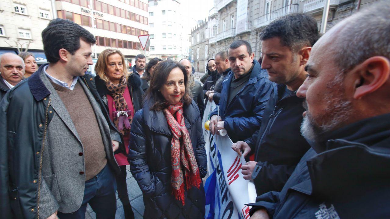 Entrega del BAM Furor a la Armada en Ferrol.La portavoz del Grupo Socialista en el Congreso de los Diputados, Adriana Lastra