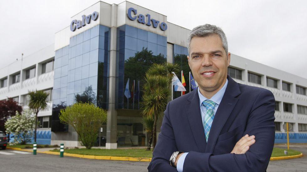 Enrique Orge Míguez, director general del Grupo Calvo para Europa, Centroamérica, NAFTA y resto del mundo