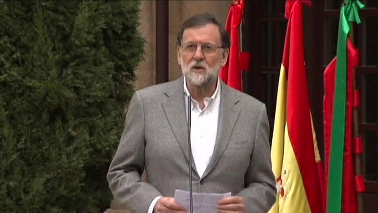 Rajoy ve «legítimo y proporcionado» el ataque militar contra Siria.