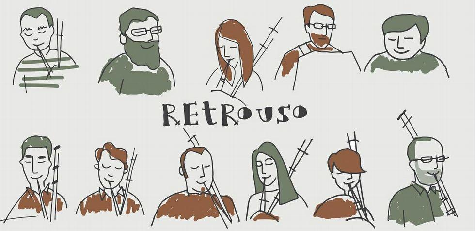 El diseño gráfico del disco es de Rosa Herraiz e incluye un póster con las caricaturas de los once músicos.