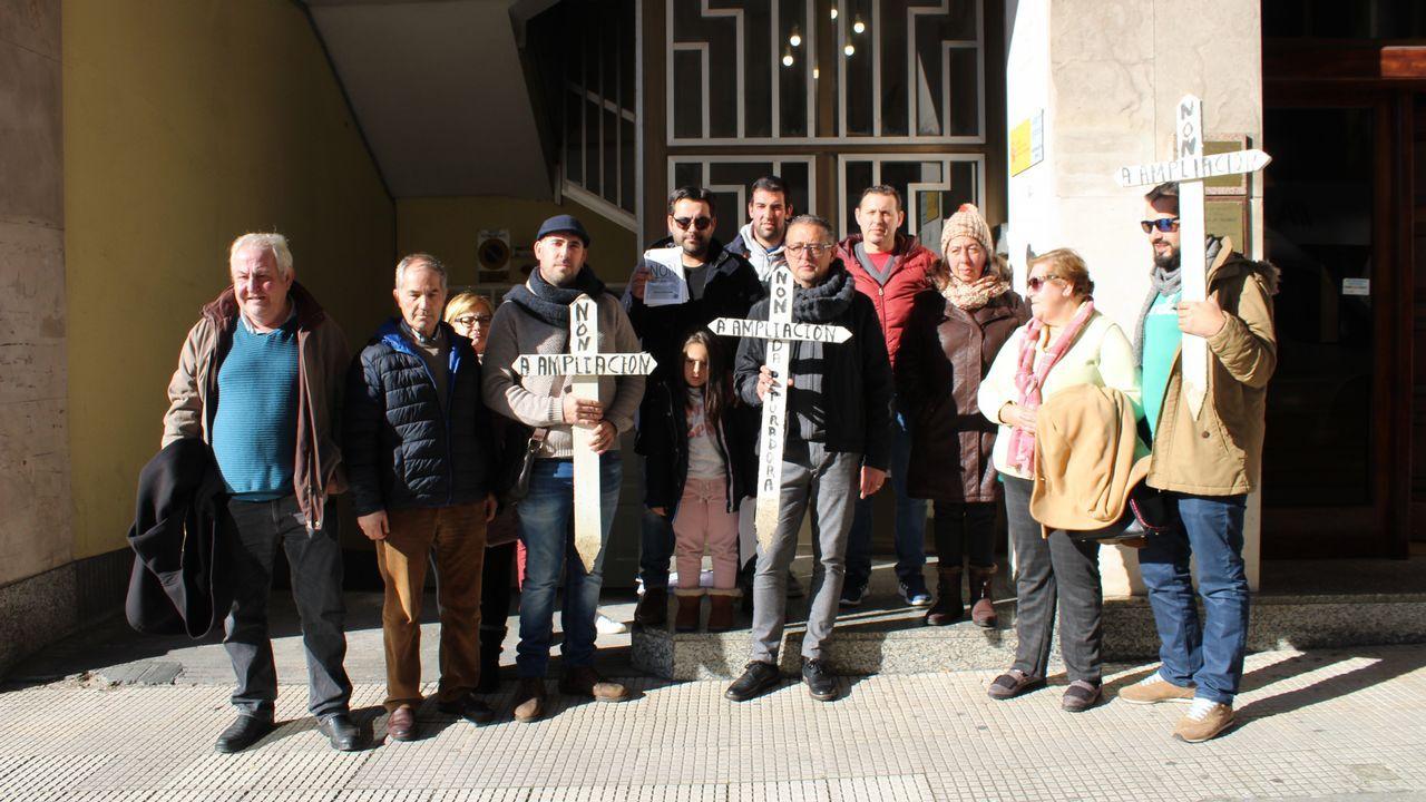manifa edu.Jesús Pereira, a la derecha de la imagen, pasó muchos años junto a José Luis Baltar (izquierda)
