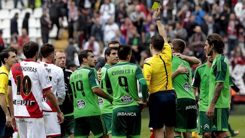 La derrota del Celta en Vallecas.Radoja participó con normalidad en la leve sesión de trabajo y Berizzo cuenta con él.