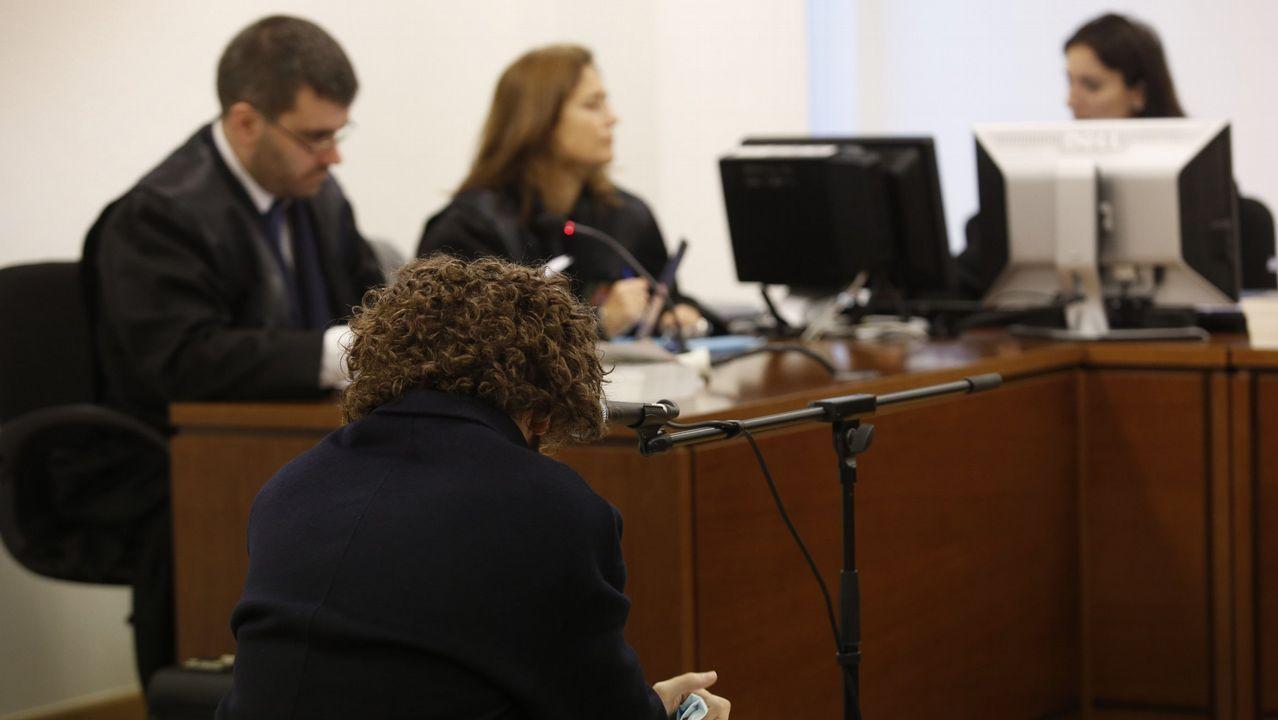 Imagen de archivo del primer juicio contra la página web Rojadirecta.