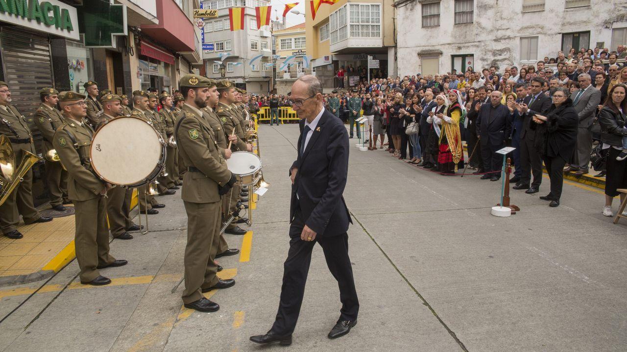 Emoción en Malpica en el último acto de homenaje a Pardines Arcay.