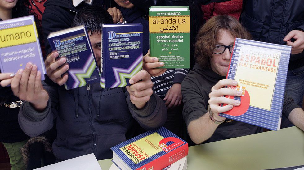 Alumnos de inmersión lingüística.Alumnos de inmersión lingüística