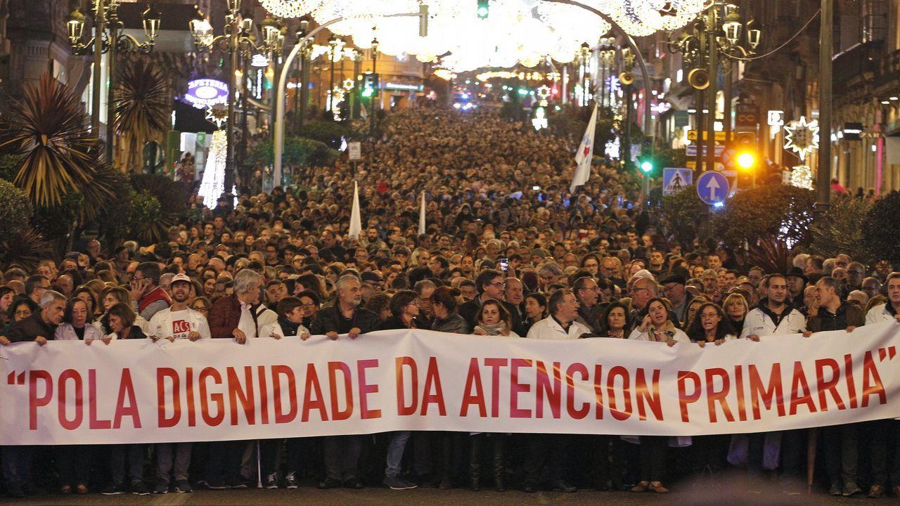 Entrevista a Ignacio Blanco (VOX).Manifestación de diciembre en Vigo