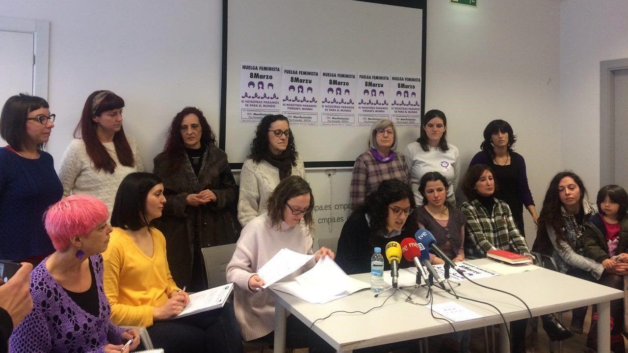 Las imágenes de la manifestación del 8M en Gijón.Ayuntamiento de Gijón