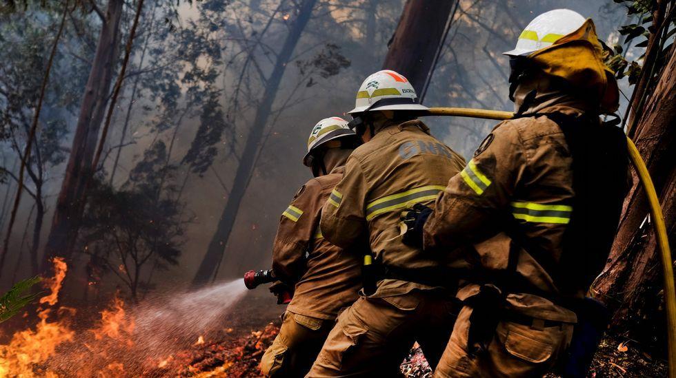 Los incendiosen Portugal