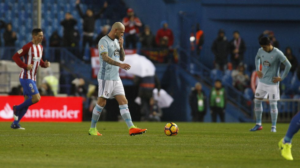 Atlético - Celta, en imágenes