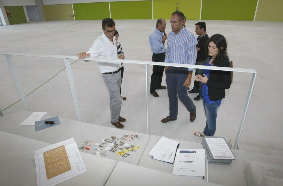 La constructora entregó ayer las instalaciones de Monte da Vila a la Xunta.
