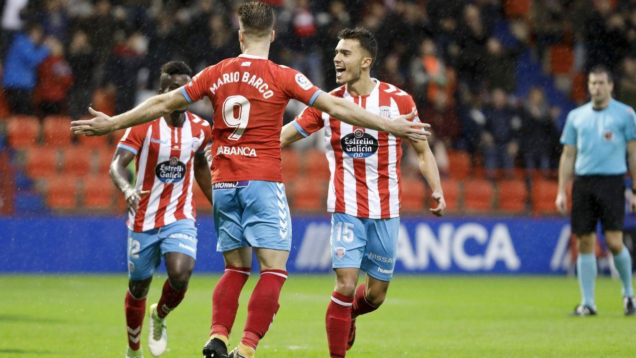 Valverde prefiere esperar a conocer el alcance de las molestias de Messi.El Deportivo aplaude a sus aficionados al término del partido del pasado sábado