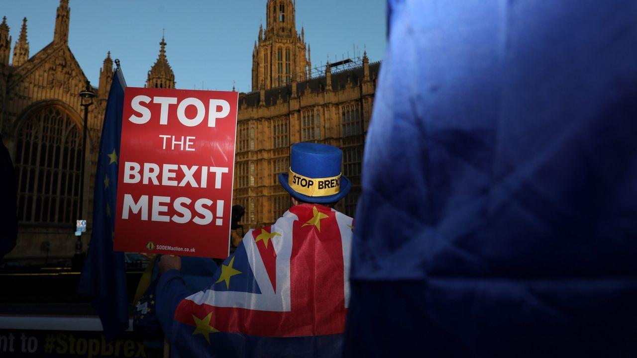 Son moitos os ingleses que reclaman un segundo referendo sobre a desconexión