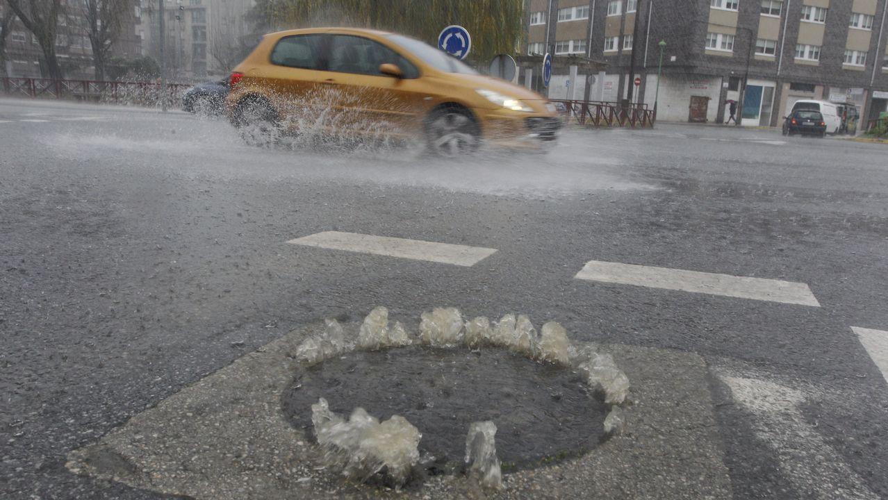 Inundaciones en Vilagarcía