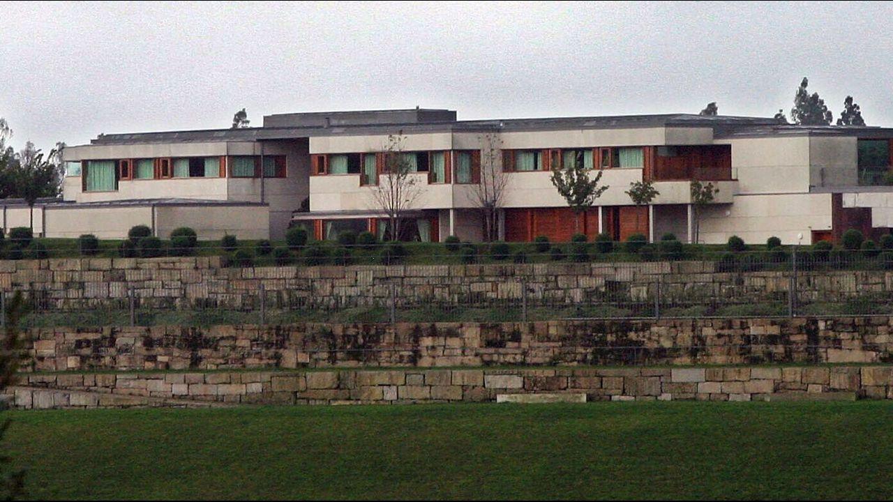 Complejo residencial de Monte Pío en Santiago
