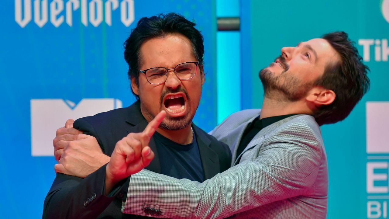 Los actores Diego Luna y Michael Peña