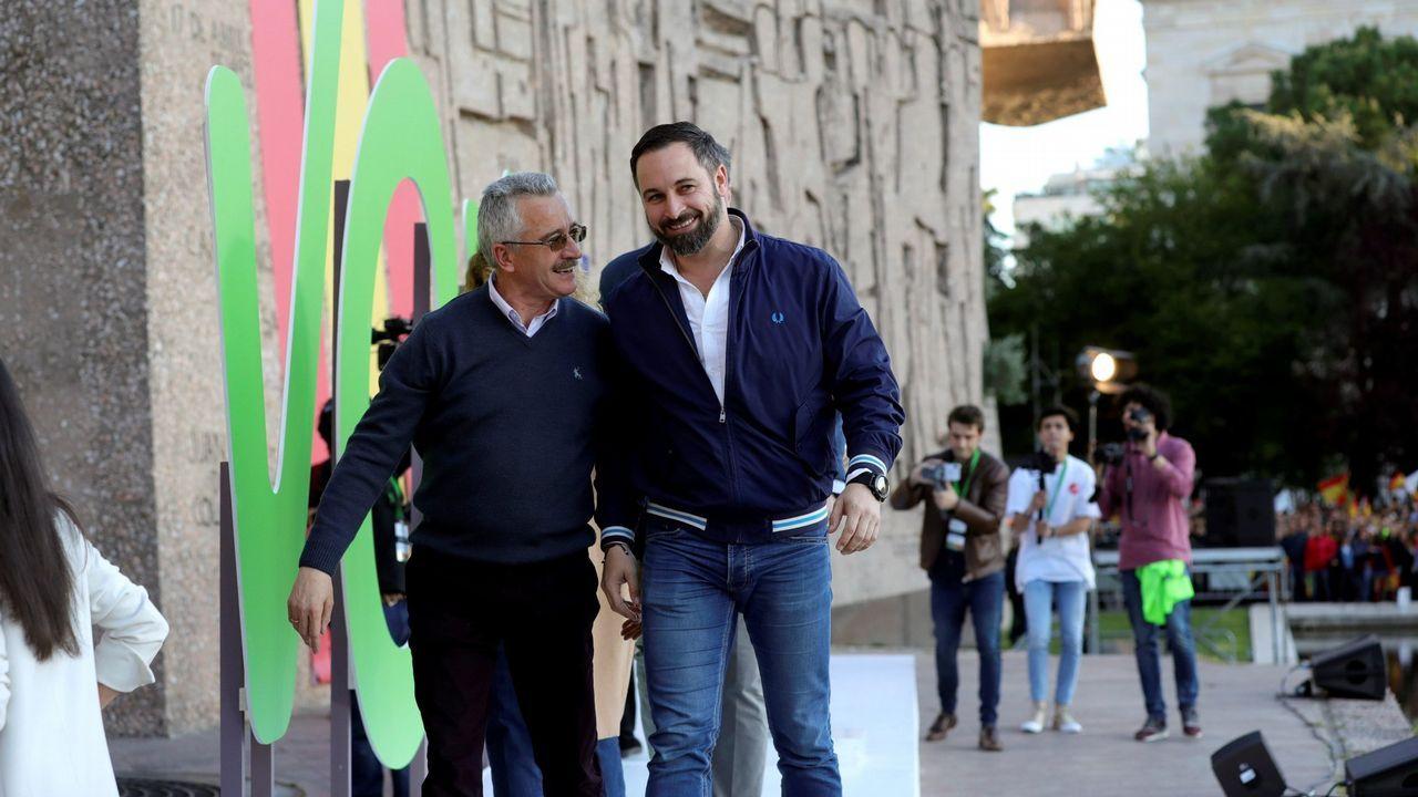 Adrián Barbón, en la «carretera».Pablo Casado