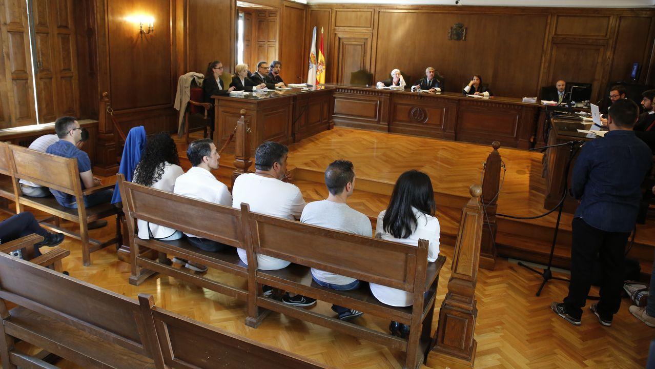 Alegato de Diego Cores en la Audiencia de Pontevedra.