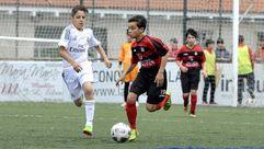 El torneo de la EF Lalín arrancó con buen fútbol y respaldo del público