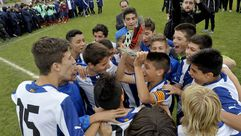 El Espanyol se lleva la quinta edición del Torneo Internacional de Lalín