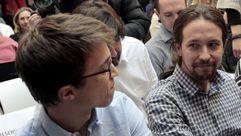 Pablo Iglesias e Íñigo Errejón apoyan a Juan Carlos Monedero