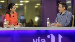 Entrevista a Xavier Vence en «Vía V»