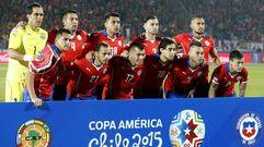 Chile 1 - 0 Uruguay, en imágenes