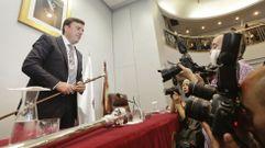 Valentín González, nuevo presidente de la Diputación de A Coruña
