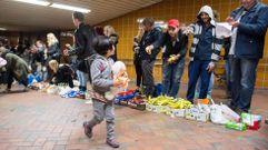Continúa la ola de solidaridad en Austria y Alemania con los refugiados sirios