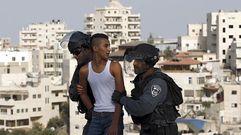 Enfrentamientos en la Explanada de las Mezquitas de Jerusalén