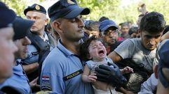 Croacia, desbordada por la llegada de refugiados