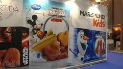Chorizos de pulpo y merluza de Mickey Mouse