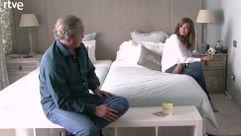 Mariló Montero en la habitación de Bertín y Fabiola