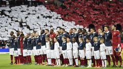 La emocionante Marsellesa en Wembley