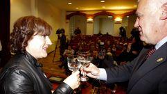 Acto homenaje a Teresa Romero en Becerrea