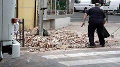 Destrozos en Melilla por un terremoto