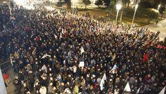 Manifestación contra ENCE en Pontevedra